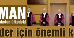 Alman mahkemesinden ülkedeki Türkler için önemli karar