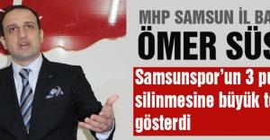 Başkan Ömer Süslü: Samsunspor'u hedefinden kimse alıkoyamaz