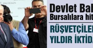 Devlet Bahçeli Bursalılara hitap etti