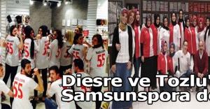 Diesre ve Tozlu#039;dan Samsunspora destek