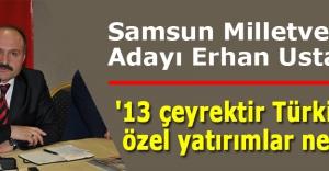 Erhan Usta:#039;13 çeyrektir Türkiye#039;de özel yatırımlar negatif#039;