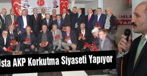 Erhan Usta: AKP Korkutma Siyaseti Yapıyor...