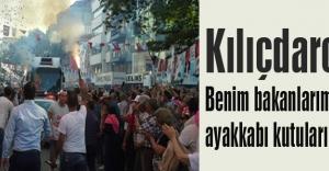 Kılıçdaroğlu: Benim bakanlarımın ayakkabı kutuları olmayacak