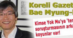 Koreli gazeteci:#039;Soruşturmasının arkasında koyunlar var!#039;