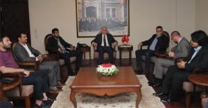 Körfez ülkeleri basın mensuplarından Samsun Valisi#039;ne ziyaret