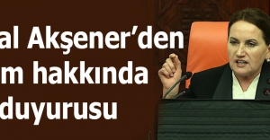 Meral Akşener'den 3 isim hakkında suç duyurusu