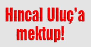 MHP'den Hıncal Uluç'a açık mektup!