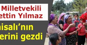 MHP Milletvekili Yılmaz, Karaisalının köylerini gezdi