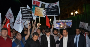 Mısır Büyükelçiliği önünde 'Mursi' eylemi