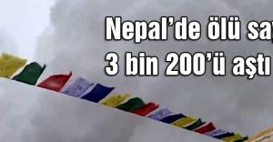 Nepalde ölü sayısı 3 bin 200ü aştı