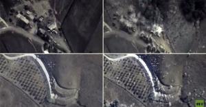 Rusya'nın operasyon görüntüleri yayınlandı