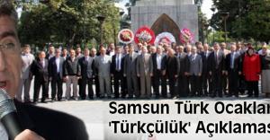 Samsun Türk Ocaklarından #039;Türkçülük#039; Açıklaması