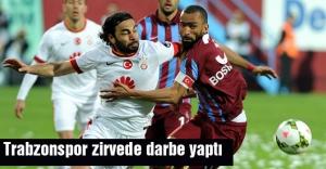 Trabzonspor zirvede darbe yaptı