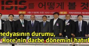 'Türk medyasının durumu, Güney Kore#039;nin darbe dönemini hatırlatıyor