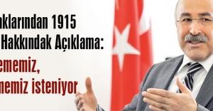Türk Ocaklarından 1915 Olayları Hakkındak Açıklama