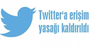 Twitter'dan Suruç yasağı kalktı