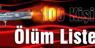 100 Kişilik Ölüm Listesi...