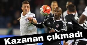 Beşiktaş puanını 23'e çıkardı