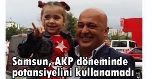 MHP'li Akın: Samsun, AKP döneminde potansiyelini kullanamadı