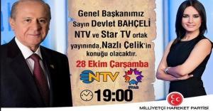 MHP Lideri Bahçeli, Televizyonların Gözdesi Oldu