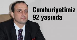 Süslü'den Cumhuriyet Bayramı mesajı