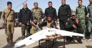 Türkmenler Kerkük'te IŞİD'in İHA'sını düşürdü