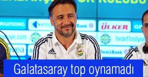 Vitor Pereira:Galatasaray top oynamadı