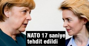 Alman Ordusu: NATO 17 saniye tehdit edildi