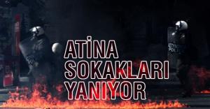 Atina'da Polise Molotoflu Saldırı