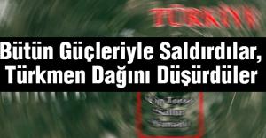 Bütün Güçleriyle Saldırdılar, Türkmen Dağını Düşürdüler