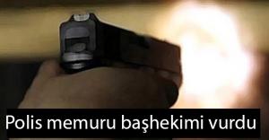 Çorum'da Polis memuru başhekimi vurdu