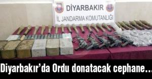 Diyarbakır'da Ordu donatacak cephane...