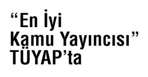 """""""En İyi Kamu Yayıncısı"""" TÜYAP'ta"""