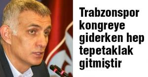 Hacıosmanoğlu: 'Trabzonspor kongreye giderken hep tepetaklak gitmiştir