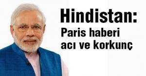 Hindistan Başbakanı Modi: Paris haberi acı ve korkunç
