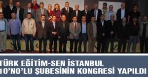 İstanbul 10 no'lu Şube 1. Olağan Genel Kurulu'nu gerçekleştirdi.