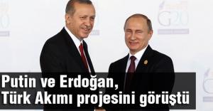 Liderler Türk Akımı'nı görüştü
