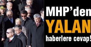 MHP'den Yalanlara Cevap!
