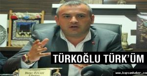 MHP Kars İl Başkanı Özcan: Ben Türkoğlu Türküm