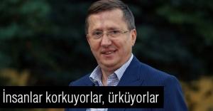 MHP'li Türkkan: İnsanlar korkuyorlar, ürküyorlar