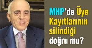 MHP'de Üye Kayıtlarının silindiği doğru mu?