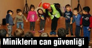 Miniklere can güvenliği eğitimi