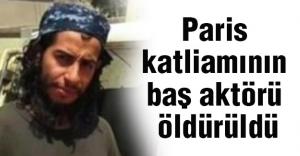 Paris Katliamının Baş Aktörü Öldürüldü