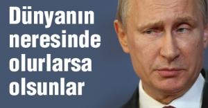 Putin, Uçak kaçıranların biletini kesti