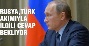 Putin:Türk Akımıyla İlgili Cevap Bekliyor