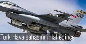 Rus uçağı, Türk hava sahasını ihlal etti.