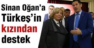 Sinan Oğan'a Türkeş'in Kızından Destek