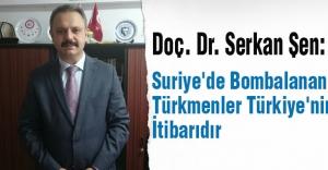 Suriye'de Bombalanan Türkmenler Türkiye'nin İtibarıdır