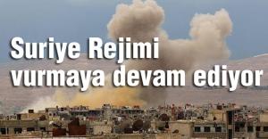 Suriye Rejimi Var Gücüyle Saldırıyor...