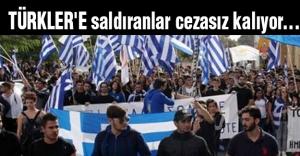 TÜRKLER'E saldıranlar cezasız kalıyor...